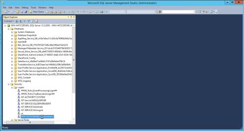 SQL Server Select Login