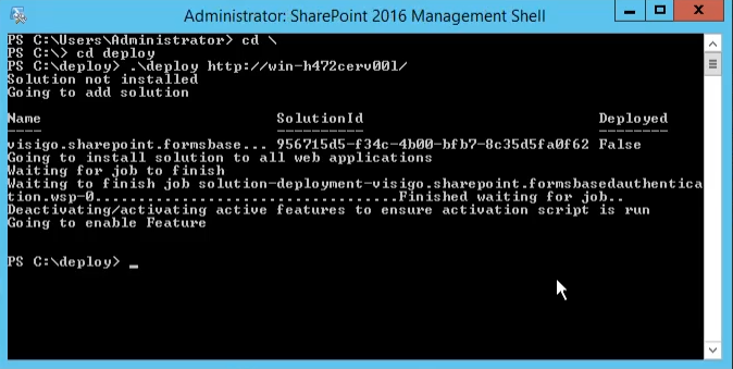 Configuring Forms Based Authentication in SharePoint 2016 and